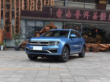 Zotye X7 (копия Volkswagen Cross Coupe GTE)