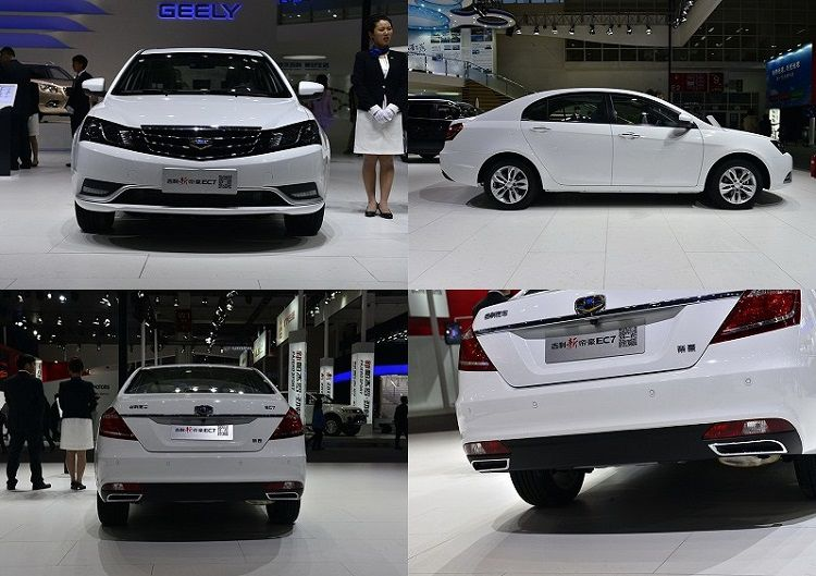 Geely Emgrand EC7 new